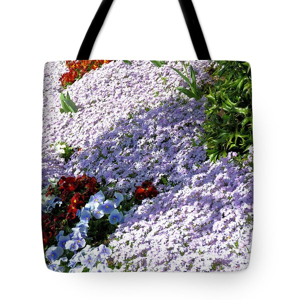 Flowing Phlox Tote Bag by Jan Amiss Photography