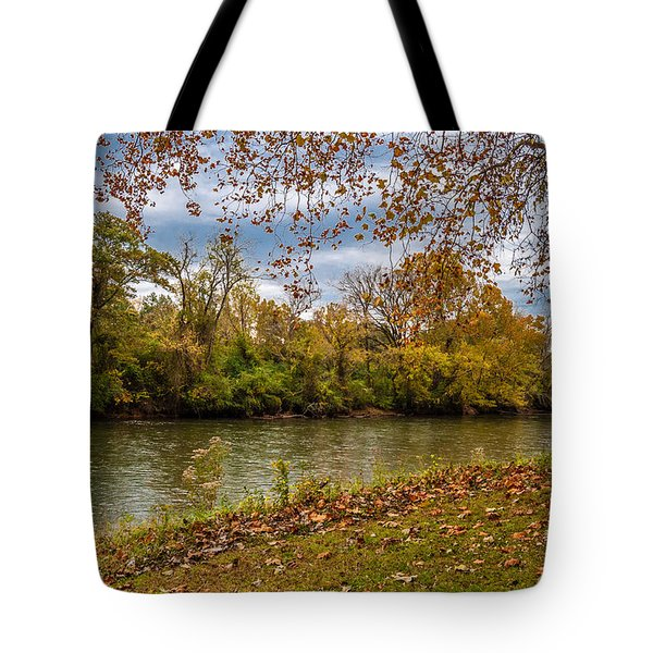 Flowing River Tote Bag