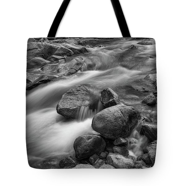 Tote Bag featuring the photograph Flowing Rocks by James BO Insogna