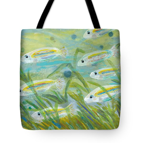 Flowing Seagrass Tote Bag
