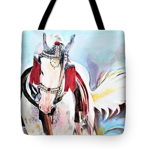 Flowing Tail Tote Bag