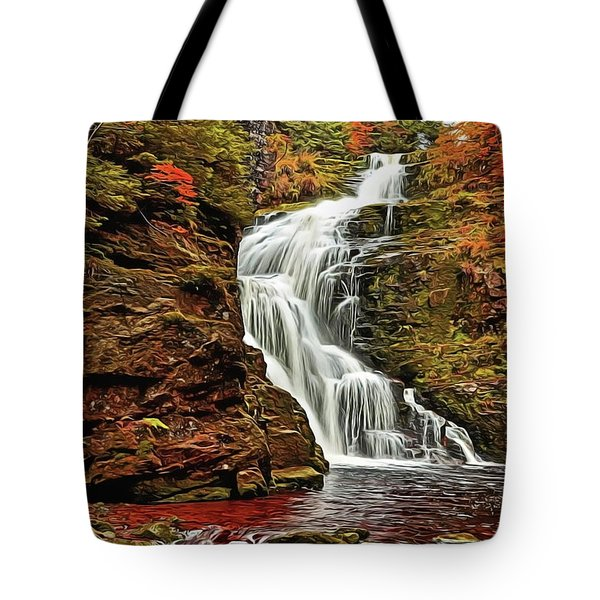 Flowing Waters Tote Bag