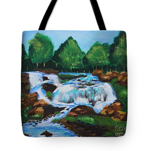 Flowing Waters Tote Bag