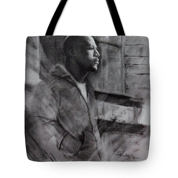 Reflections Of Floyd Mayweather Tote Bag