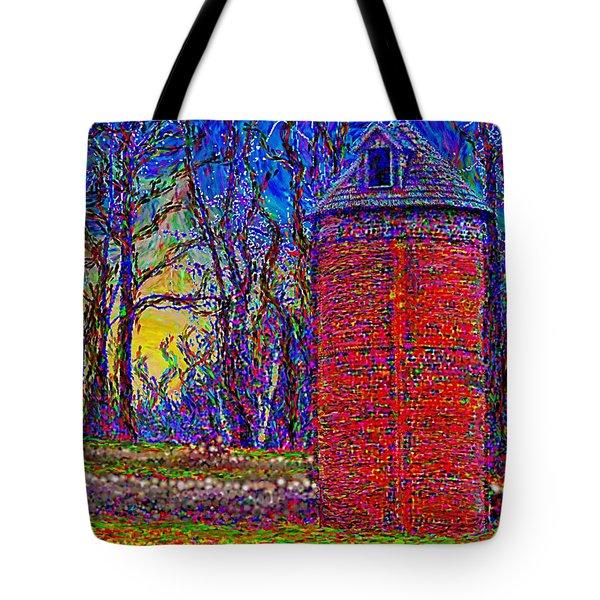 Floyd,virginia Tower Tote Bag