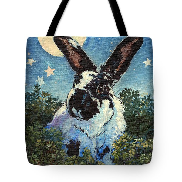 Fluffston Dines Out Tote Bag