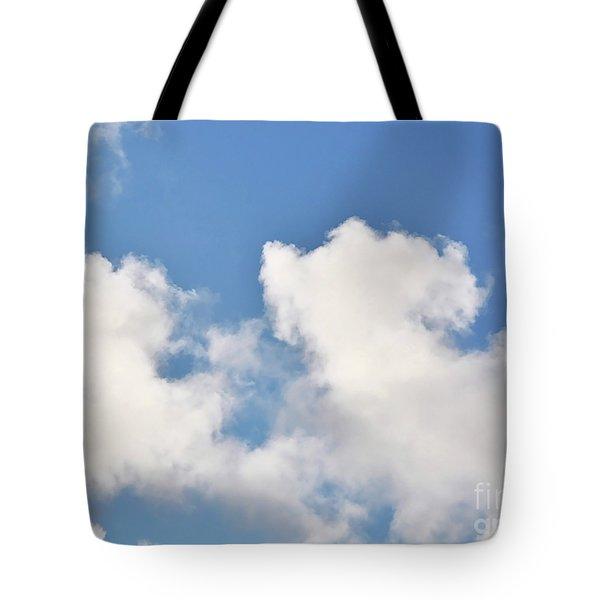 Fluffy Lamb Cloud Tote Bag