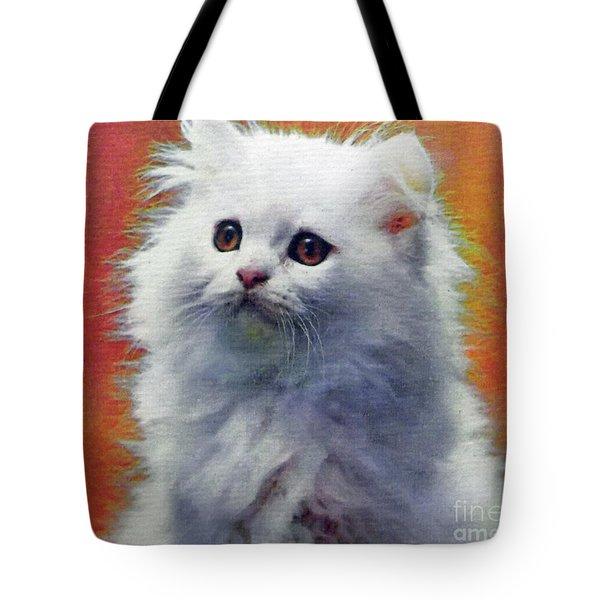 Fluffy Princess Tote Bag