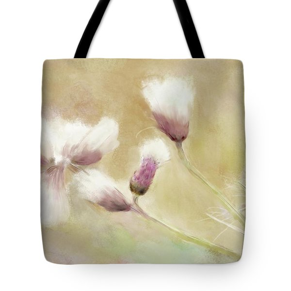 Fluffy Thistle Tote Bag