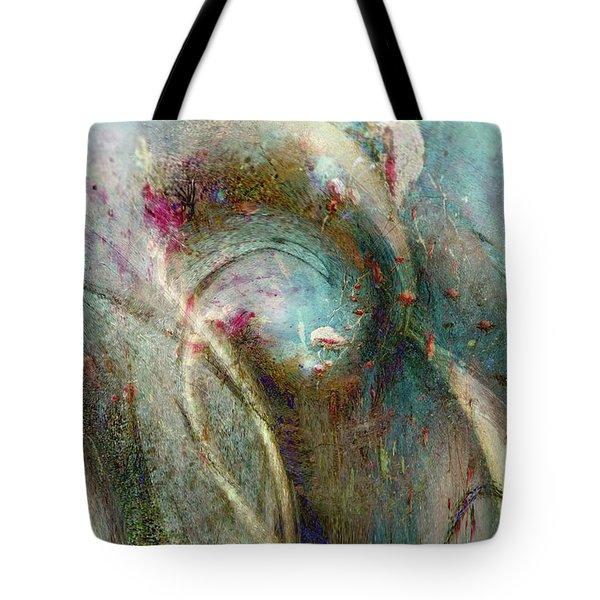 Tote Bag featuring the digital art Flugufrelsarinn by Linda Sannuti
