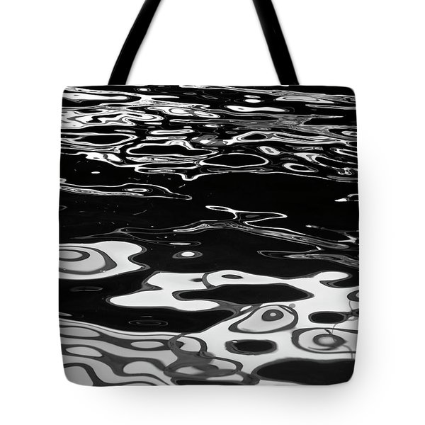Fluid Abstract Tote Bag