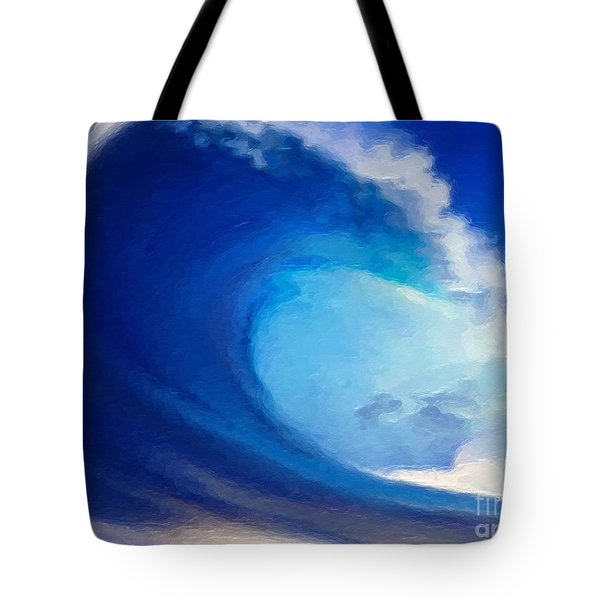 Fluid Tote Bag