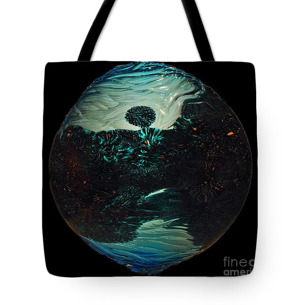 Fluid Evolution Tote Bag
