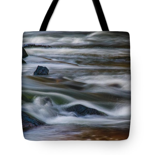 Fluid Motion Tote Bag by Steven Richardson