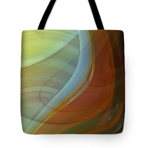 Tote Bag featuring the digital art Fluidity by David Manlove