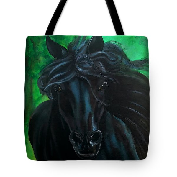 Tote Bag featuring the painting Fluing High by Thomas Lupari