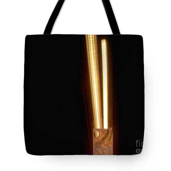 Fluorescent Lighting 'n Paperbag Tote Bag