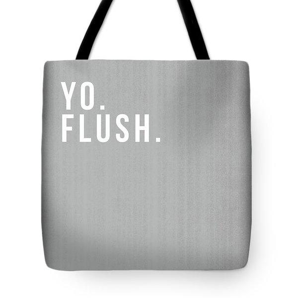 Flush- Art By Linda Woods Tote Bag