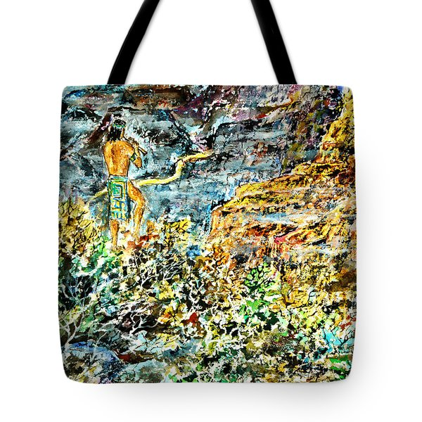 Flutes Breath Tote Bag