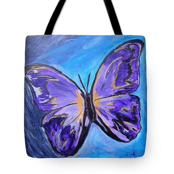 Flutterby Bring The Light Tote Bag