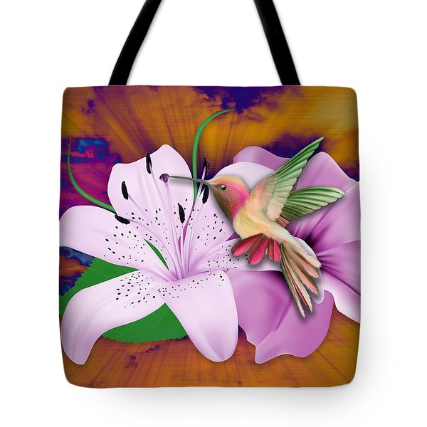 Tote Bag featuring the mixed media Fluttering by Marvin Blaine