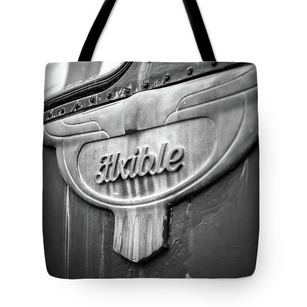 Flxible Clipper 1948 Bw Tote Bag