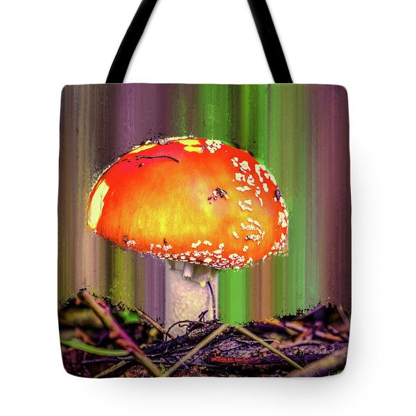 Tote Bag featuring the photograph Fly Agaric #g7 by Leif Sohlman