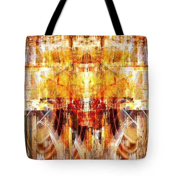 Tote Bag featuring the digital art Fly Away.. by Art Di