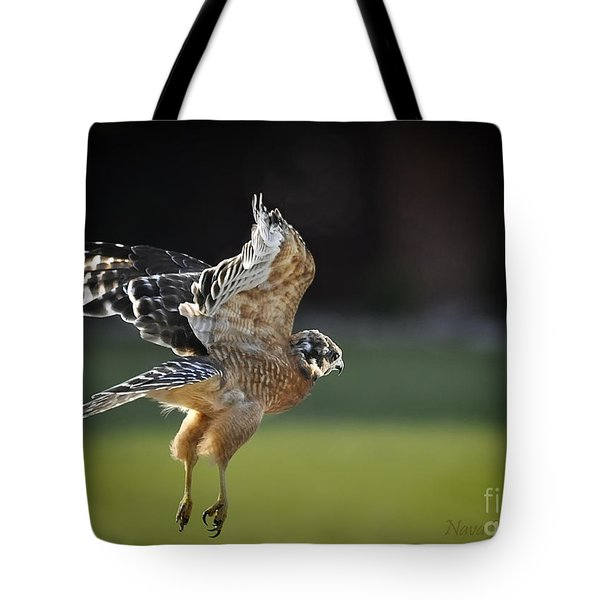Tote Bag featuring the photograph Fly Away by Nava Thompson