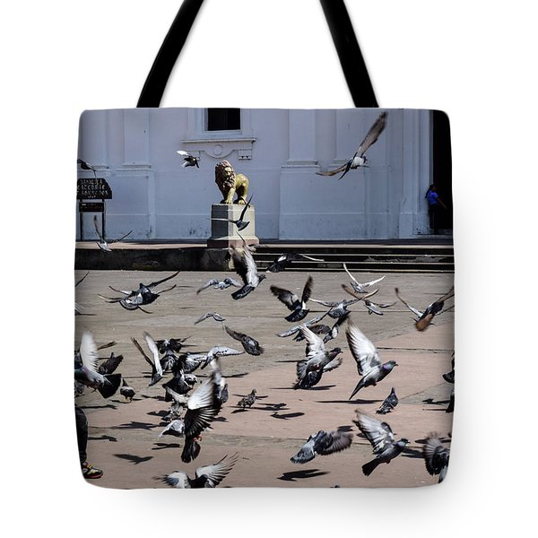Fly Birdies Fly Tote Bag
