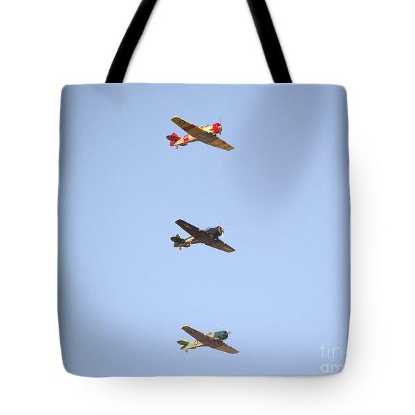 Fly Boys Tote Bag