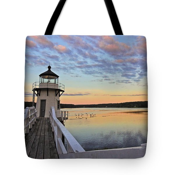 Fly By Morning Tote Bag