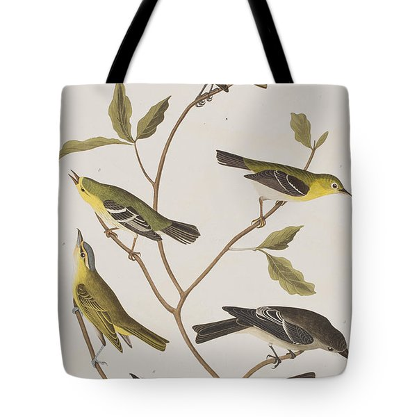 Fly Catchers Tote Bag by John James Audubon