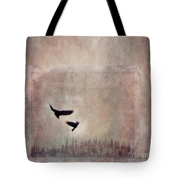 Fly Dance Tote Bag by Priska Wettstein