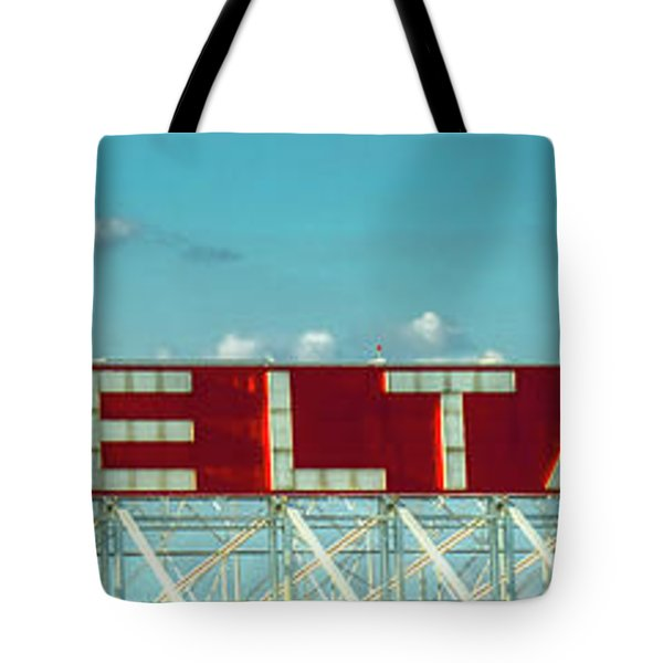 Fly Delta Jets Signage Hartsfield Jackson International Airport Art Atlanta, Georgia Art Tote Bag