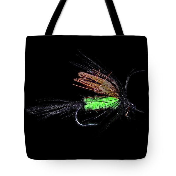 Tote Bag featuring the photograph Fly-fishing 1 by James Sage