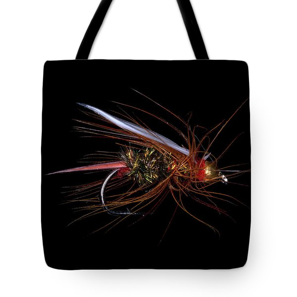 Tote Bag featuring the photograph Fly-fishing 4 by James Sage