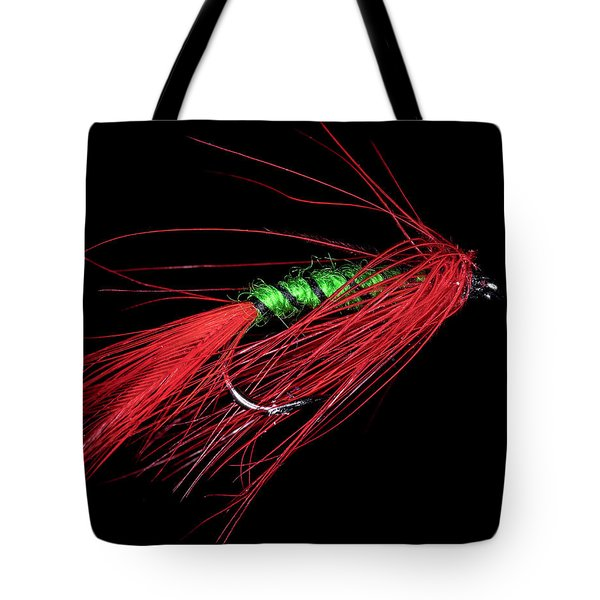 Tote Bag featuring the photograph Fly-fishing 5 by James Sage