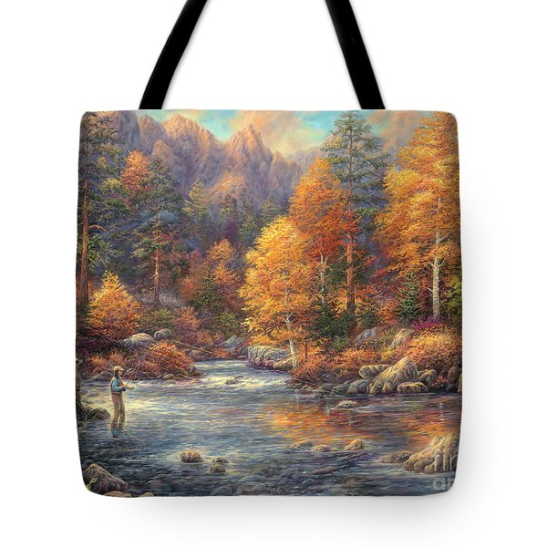 Fly Fishing Legacy Tote Bag