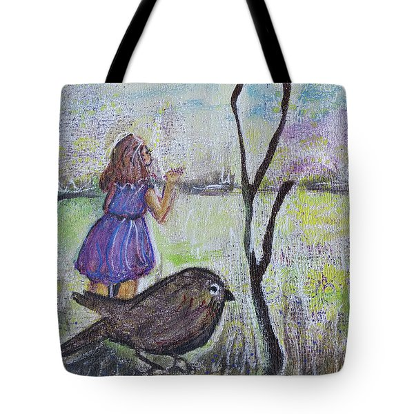 Fly, Fly Away Tote Bag