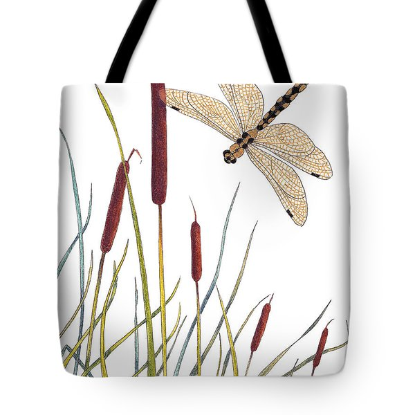 Fly High Dragonfly Tote Bag