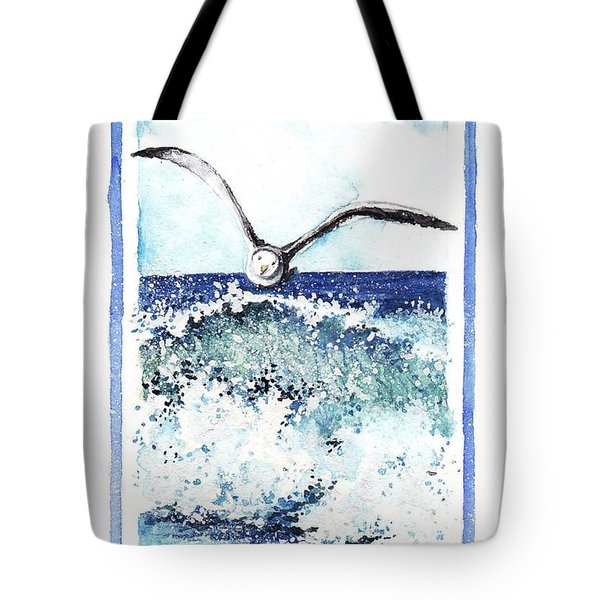 Tote Bag featuring the painting Fly High by Heidi Kriel