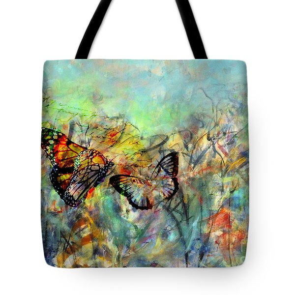 Fly Me Two The Moon Tote Bag