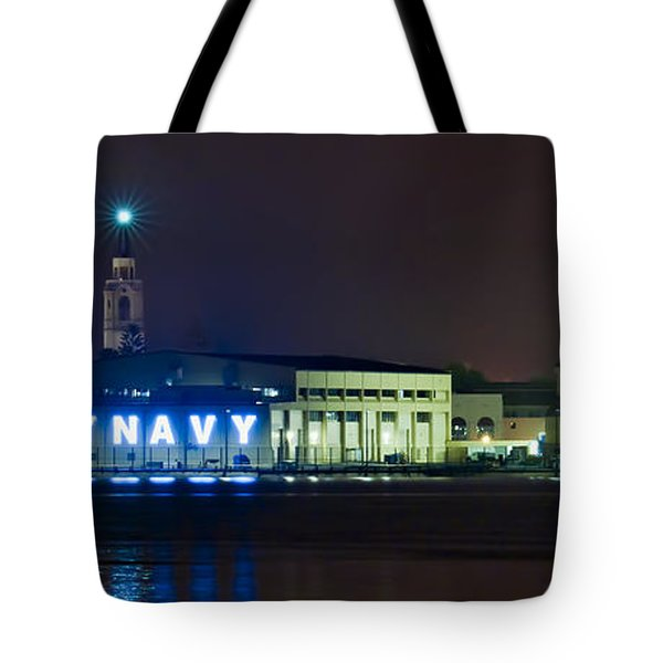 Fly Navy Tote Bag