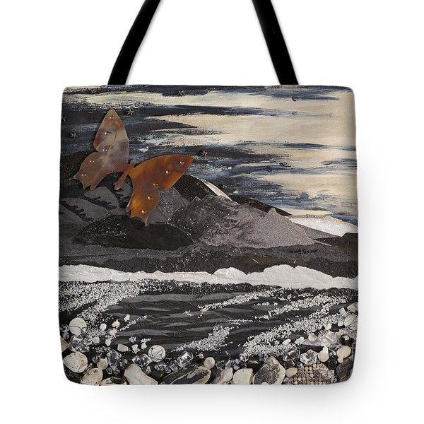 Fly Through A Troubled Sky Tote Bag