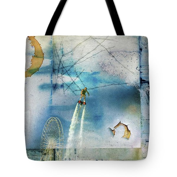 Flyboard - Freestyle Tote Bag