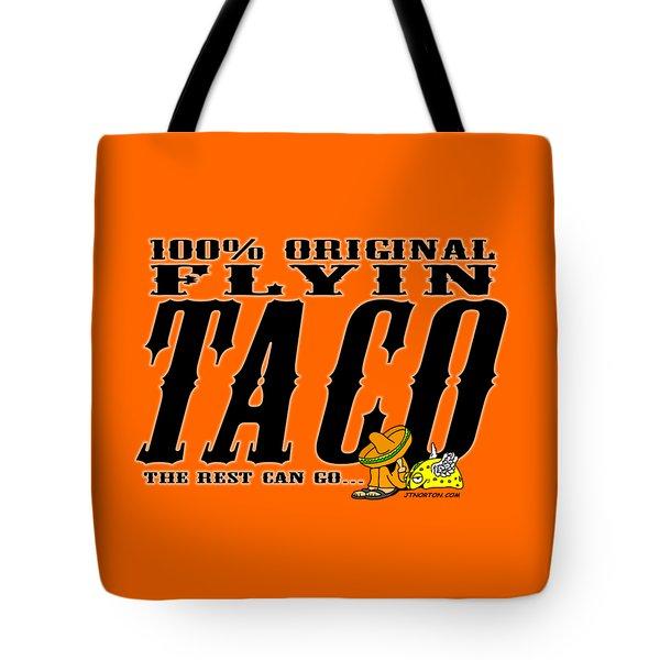 Flyin Taco 005 Tote Bag