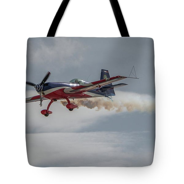 Flying Acrobatic Plane Tote Bag