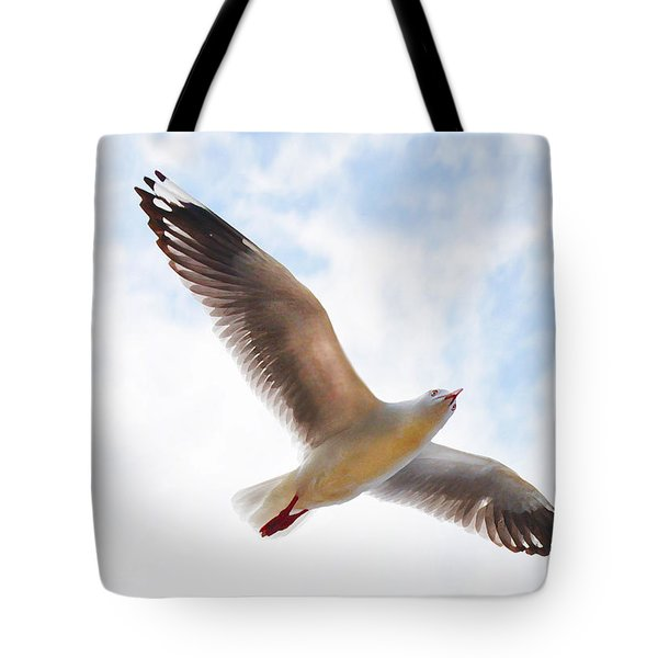Flying Away From The Madness Tote Bag