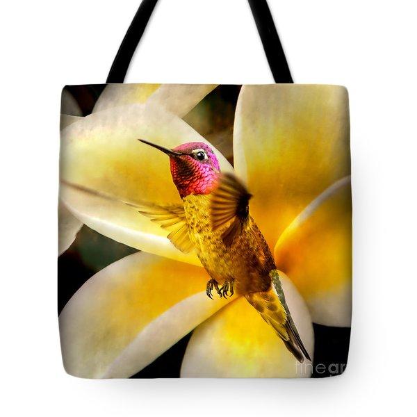 Flying Beauty Tote Bag